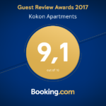 Auszeichnung bei Booking.com